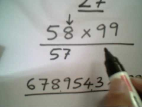 Vedic Maths - be human calculators-magical multiplication