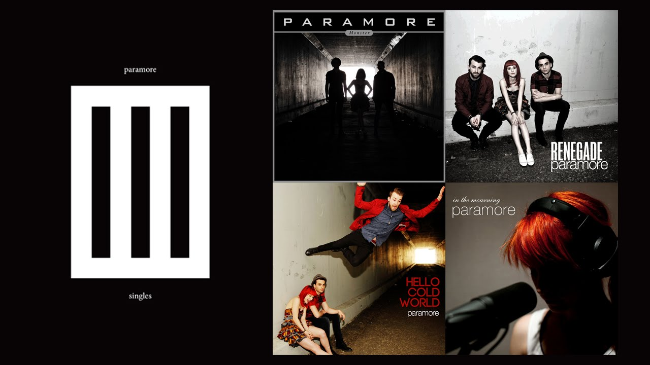 Paramore The Summer Tic Paramore - The Singles Club