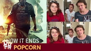 How It Ends (Netflix Movie) Trailer - Nadia Sawalha & Family Reaction & Review