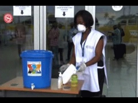 Santé /Ebola :Le ministre  vient s'assurer du dispositif mis en place à l'aéroport