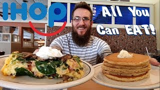 IHOP's New Omelettes & All You Can Eat Pancakes, max out meal