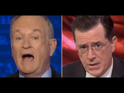 Bill O'Reilly Blows a Fuse Because Stephen Colbert Mocked Him