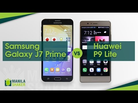 Phone-Off: Samsung Galaxy J7 Prime vs Huawei P9 Lite Review + Camera Comparison