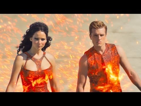 The Hunger Games: Catching Fire (Starring Jennifer Lawrence) Movie Review