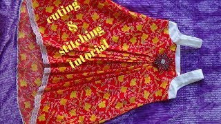 How to make BABY Dress for girl tunic top baby frock designing tutorial LATEST SUMMER DRESS DESIGN