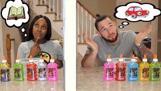 Twin Telepathy Slime Challenge | Parents Edition