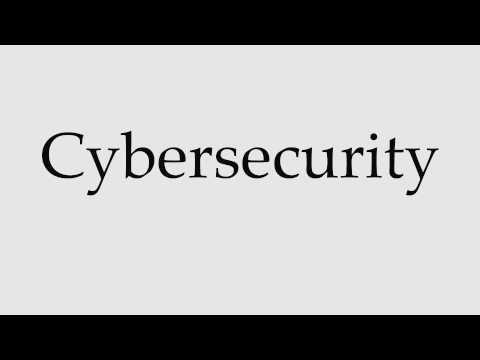 How to Pronounce Cybersecurity