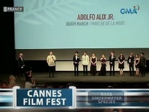 Saksi: Obra ni Adolf Alix Jr. na 'Death March,' umani ng papuri sa Cannes Film Festival