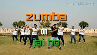 zumba on jai ho | full body workout | zumba fitness by harish shekhar