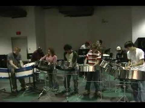 UConn Steel Drums - La Bamba Rehearsal Video