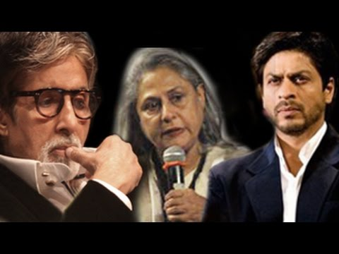 Amitabh Bachchan APOLOGISES to Shahrukh Khan for Jaya's 'NONSENSICAL' remark