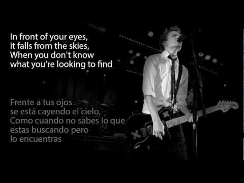 Sum 41 - With Me (Lyrics - Subtitulado en espaol e ingls) 
