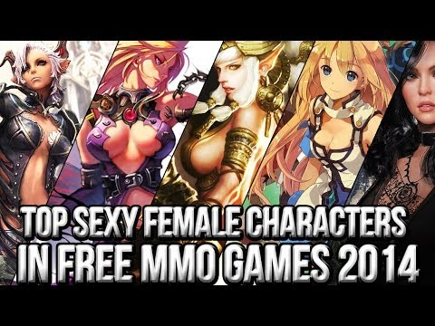 Top Sexy Female Characters In Free Mmorpg Games video