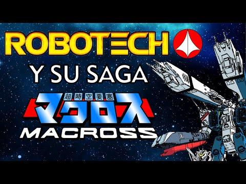 "ROBOTECH ""LA SAGA DE MACROSS"" (Mini documental)"