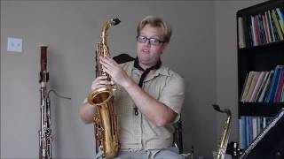 A Chinese C Melody Saxophone Review