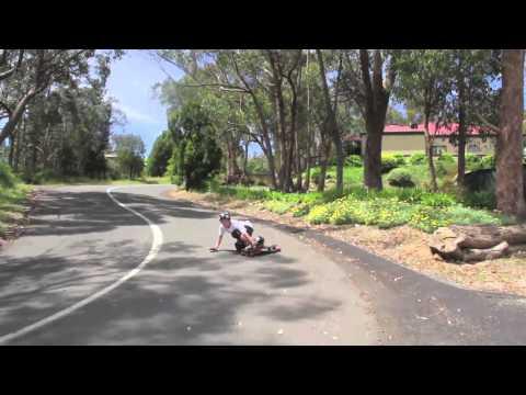 Radelaide Downhill Skateboarding 2012