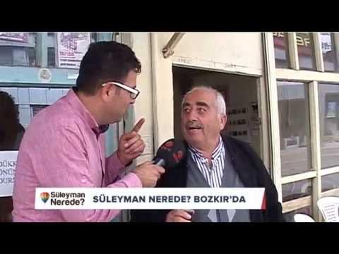 Süleyman Nerede - Bozkır -19 Ekim 2014