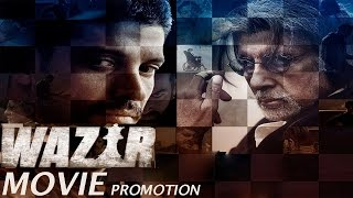 Wazir Movie 2016 | Farhan Akhtar | Amitabh Bachchan| Aditi Rao Hydari | Full Promotional Event
