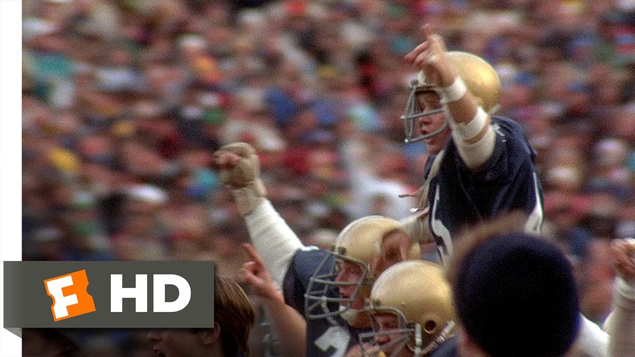 Rudy's Victory - Rudy (8/8) Movie CLIP (1993) HD - YouTube