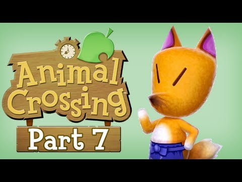 Let's Play Animal Crossing New Leaf - Part 7 (Crazy Redd)