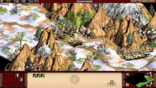 AOE II HD Tariq Ibn Ziyad Campaign 4. Crossing the Pyrenees (It is very hard..)