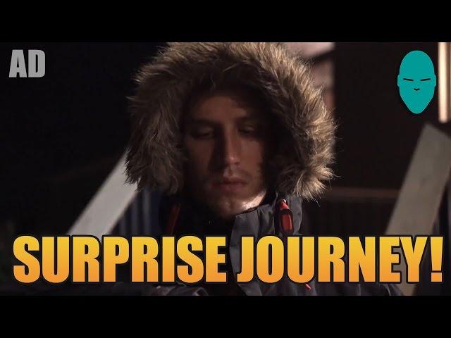 A Surprise Journey - Damien Walters #FortuneTraveller