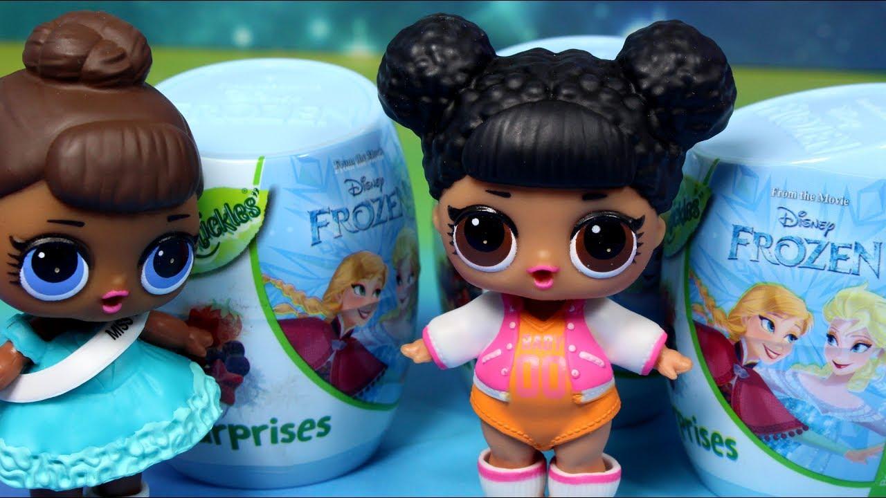 LOL Surprise  • Kule Niespodzianki i jajka Niespodzianki Frozen • Disney • bajka po polsku