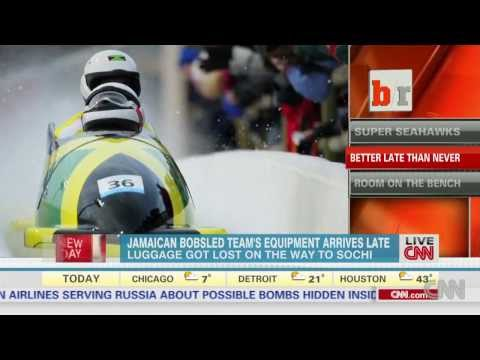 Jamaican bobsledders' equipment problem