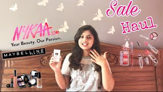 Nykaa SALE haul 2018 | Makeup and skincare haul