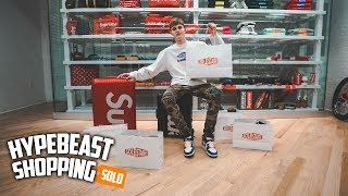 Spending Over $6,000 At SoleStage New York Hypebeast Shopping!
