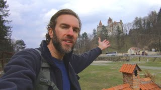Visiting the Dracula Castle in Transylvania, Romania