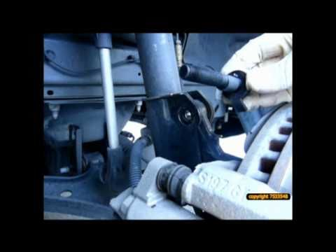 Ford Camber >> 2006 Ford Mustang GT camber bolt installation - YouTube