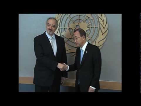 ASIA12TTV: VIOLENCE in SYRIA: U.N. S-G BAN KI-MOON (UNTV)