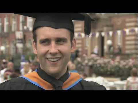 Matthew Lewis receives an honorary degree.