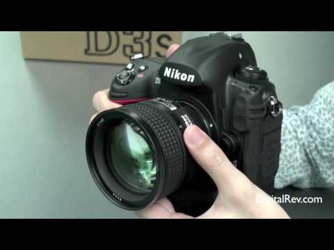 Nikon D3s Hands-on Review Video - DigitalRev.com