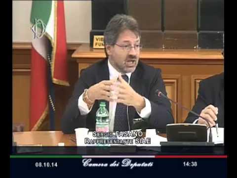 Roma - Radio e televisioni, audizione Siae (08.10.14)