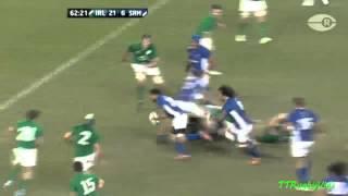 Joe Tekori bounces off O'Connell