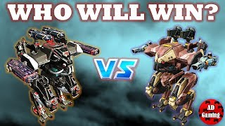 War Robots - Ares (Halo, Corona) VS Ares (Storm, Gust) + Loki Gameplay