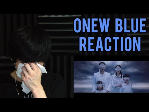 ONEW 온유 'Blue' MV Reaction | ONEW SOLO DEBUT REACTION (Onew Reaction)
