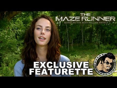 The Maze Runner featurette (Exclusive) - Meet The Gladers (HD) 2014, Dylan O'Brien