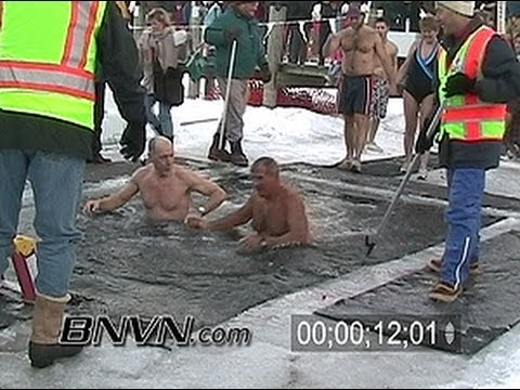 1/1/2004 Polar Plunge into Lake Minnetonka video