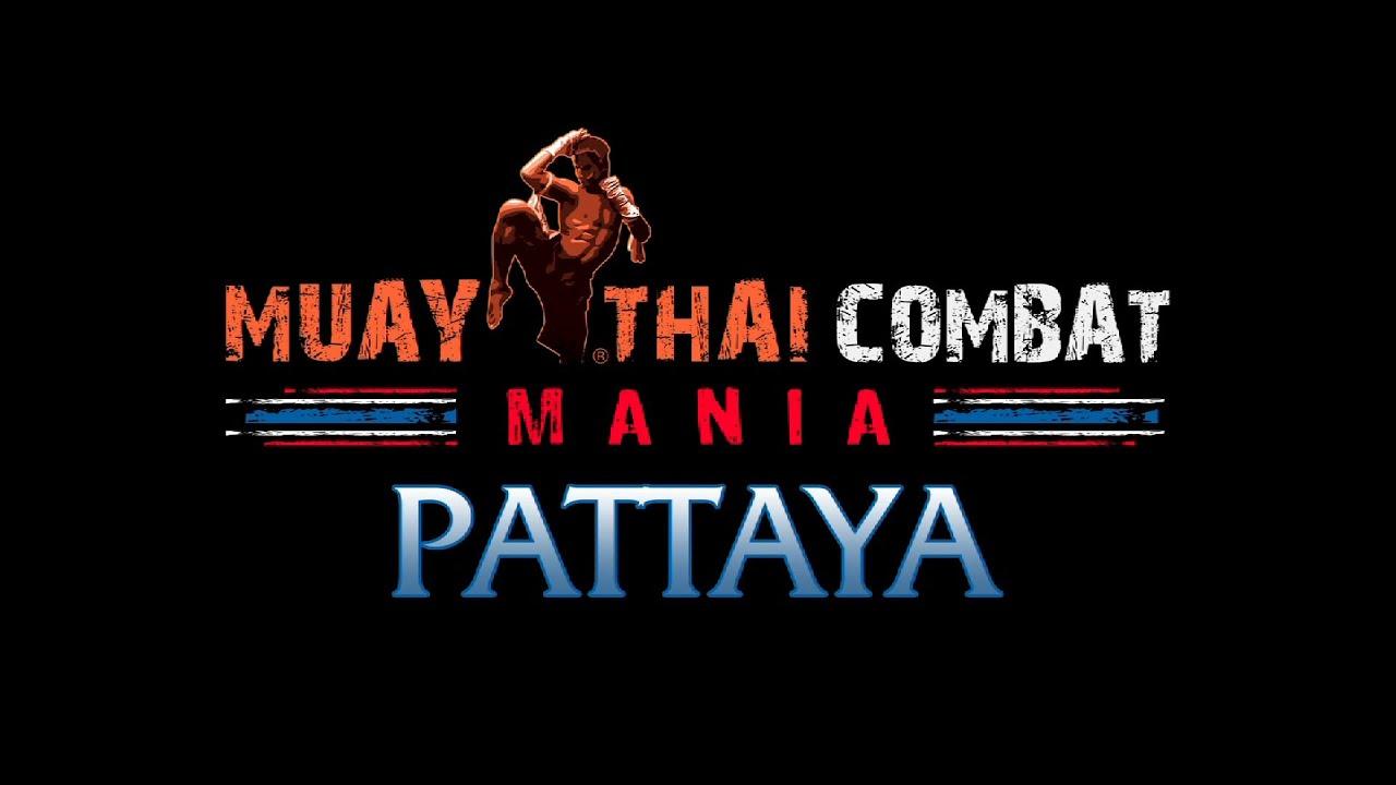 Muay Thai Combat Logo Muay Thai Combat Mania Pattaya