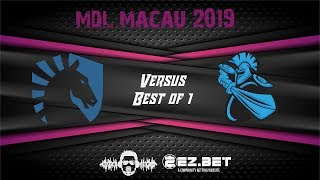 Liquid VS Newbee | MDL Macau 2019 | Miracle invoker is back |