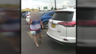 Video shows confrontation with pet owner accused of leaving dogs in hot car