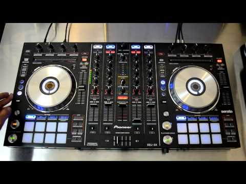 Pioneer DDJ-SX Digital DJ Controller & Serato DJ Review Video