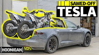 Zero F*%ks Given TESLA PICKUP TRUCK: EV West's Electric Madhouse