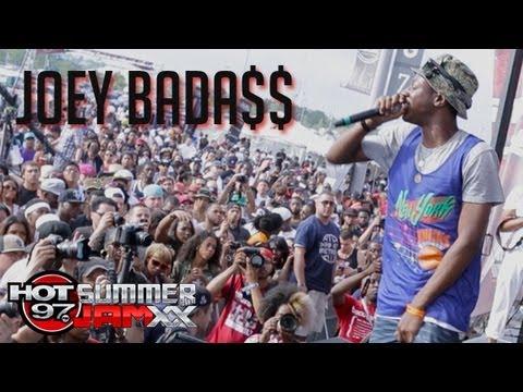 Joey Bada$$ performs