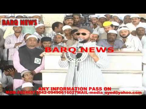 BARQ NEWS..SPEECH OF AIMIM SUPREMO ASADUDDIN OWAISI AT MECCA...
