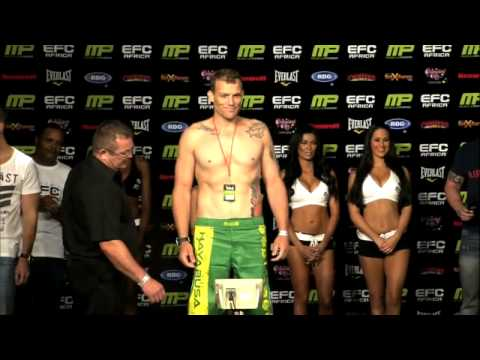 EFC Africa 18 Weigh-In