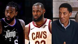Scottie Pippen wants DeAndre Jordan to join LeBron James on Cavaliers   The Jump   ESPN